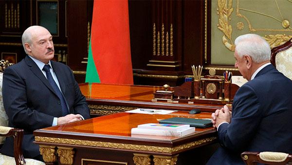 Председатель Коллегии ЕЭК встретился с Президентом Белоруссии
